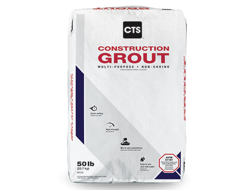 CTS Construction Grout Media
